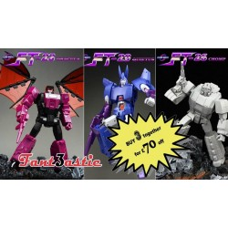 Fans Toys FT-23 Dracula FT-26 Chomp & FT-29 Quietus