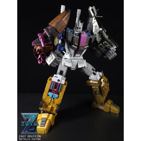 Zeta Toys ZA-07 Bruticon Metallic Edition Set of 5