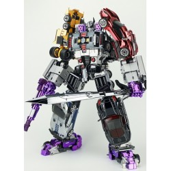 TransFormMission M-01 Havoc Set of 5 - Chrome Edition