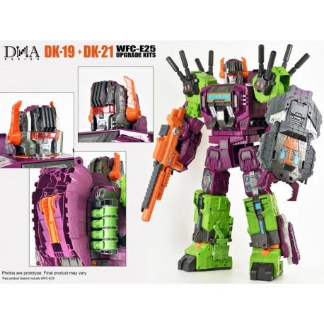 DNA Design DK-19 & DK-21 Upgrade Kit for Earthrise Scorponok w/ First Production Bonus
