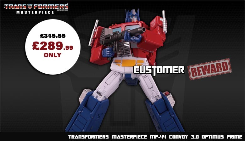 Transformers Masterpiece MP-44 Convoy Optimus Prime (Ver. 3)